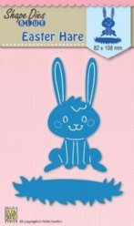 Nellies Choice mallen SDB027 Easter Hare