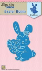 Nellies Choice mallen SDB026 Easter Bunny