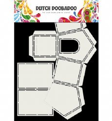 Dutch Doobadoo Card Art 3727 Dog House