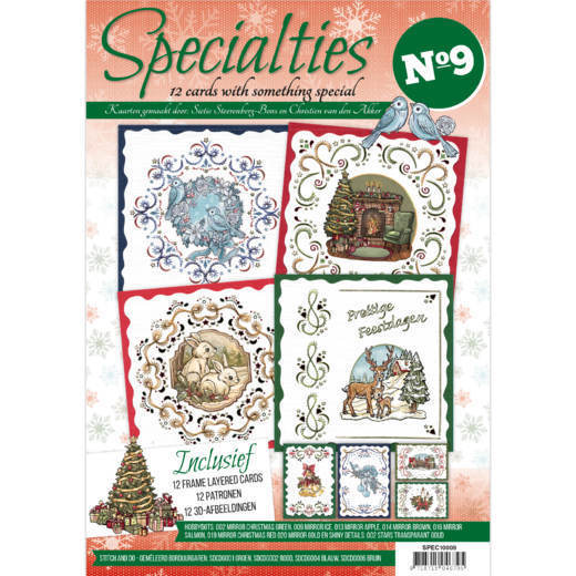 Boek SPEC10009 Specialties 9 Layered Cards