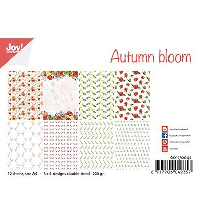 Joy!Crafts Papierset Autumn Bloom