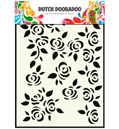 Dutch Doobadoo Mask Art 5022 Roses