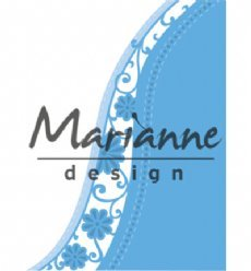 Marianne Design mallen LR0518 Flower Wave