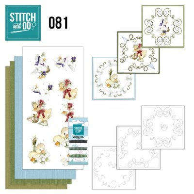 Stitch and Do set STDO081 Voorjaarsdieren