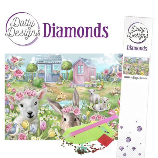 Dotty Designs Diamonds 03 Young Animals
