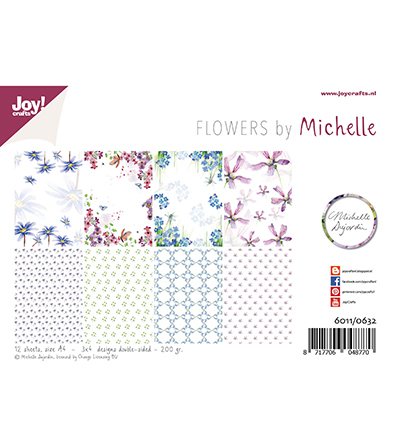 Joy!Crafts 6011/0632 Papierblok Michelle