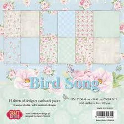 Craft&You Scrapblok CPS-BS30 Bird Song