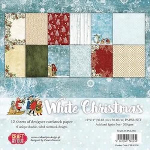 Craft&You Scrapblok CPS-WC30 White Christmas
