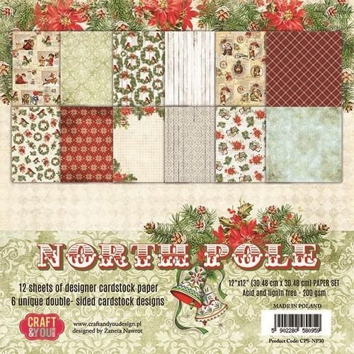 Craft&You Scrapblok CPS-NP30 North Pole