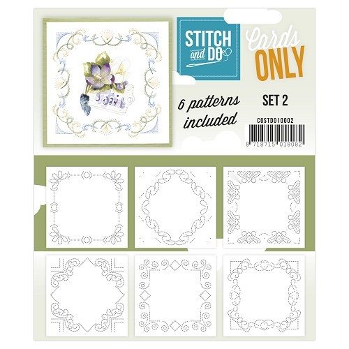 Stitch and Do patronen Cards Only