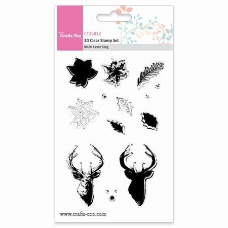 Crafts Too stempels CT25812 Stag