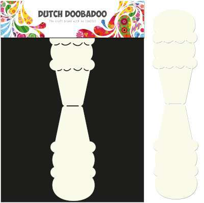 Dutch Doobadoo Card Art 3581 IJsje