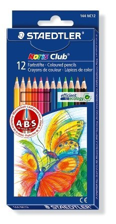 Staedtler Noris Club kleurpotlood - set 12 st.