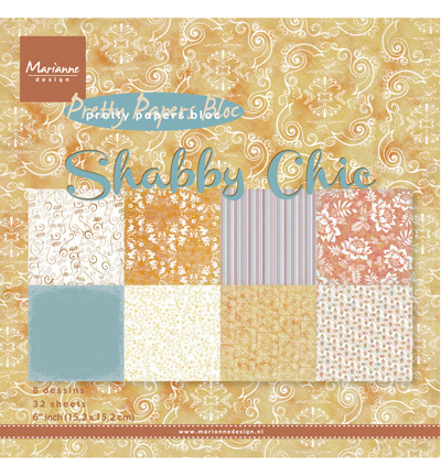 Pretty Papers Bloc PK9121 Shabby Chic