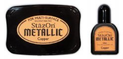 Stazon Inktset SZ-000-193 Copper Metallic