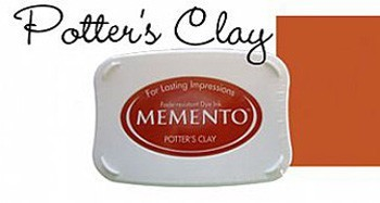 Memento Inkpad Large 801 Potters Clay