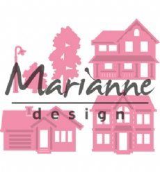 Marianne Design mallen COL1451 Mini Villages