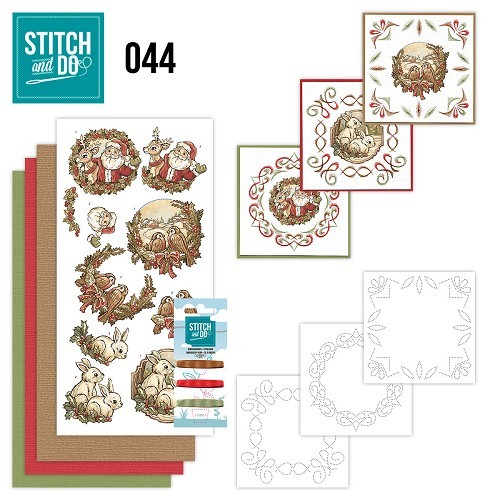 Stitch and Do set STDO044 Holly Jolly Mix
