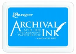 Ranger Archival Ink AIP30454 Manganese Blue