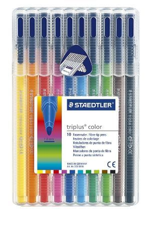 Staedtler Triplus color kleurstift - Box 10 st.