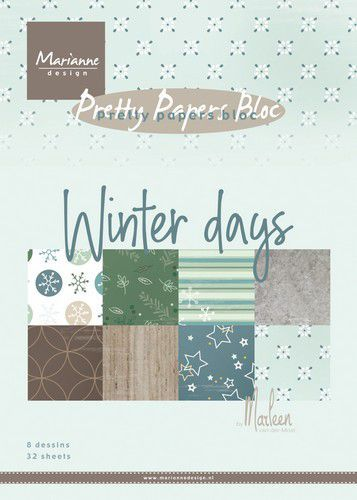 Pretty Papers Bloc PK9164 Winter Days