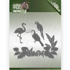 Amy Design W2 mallen ADD10174 Tropical Birds