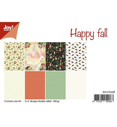 Joy!Crafts Papierset Happy Fall