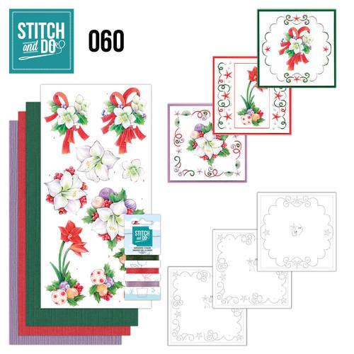 Stitch and Do set STDO060 Christmas Classic