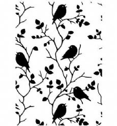 Nellies Choice embosfolder HSF027 Tree with Bird