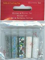 glitter set 8602 snow white