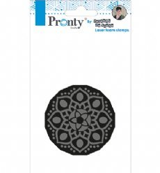 Pronty Foam stamp 001 Mandala 1