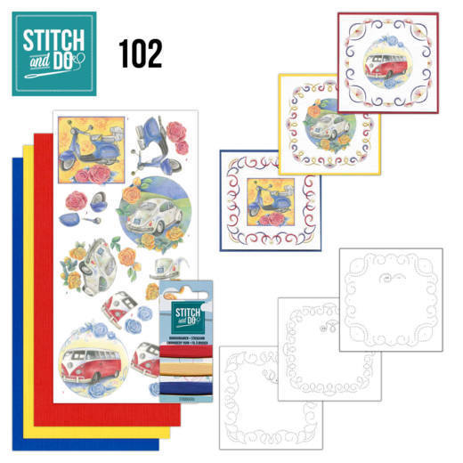 Stitch and Do STDO102 Oldtimers