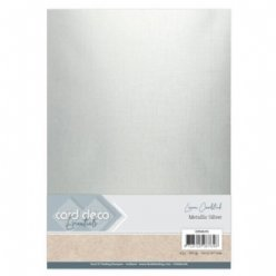 CardDeco paper CDEML001 Metallic Silver
