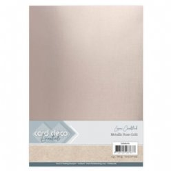 CardDeco paper CDEML004 Metallic Rose Gold