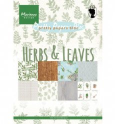 Pretty Papers Bloc PK9152 Herbs Leaves