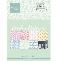 Pretty Papers Bloc PB7054 Papers Crafty Patterns