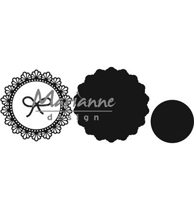 Marianne Design mallen CR1414 Twine Circle