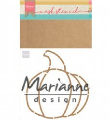 Marianne Design Stencil PS8016 Pumpkin