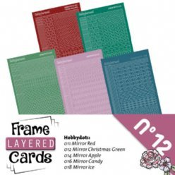 Frame Cards 12 LCST012 Hobbydots Stickerset