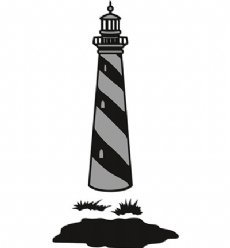 Marianne Design mallen CR1410 Lighthouse
