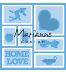 Marianne Design mallen LR0568 Layout