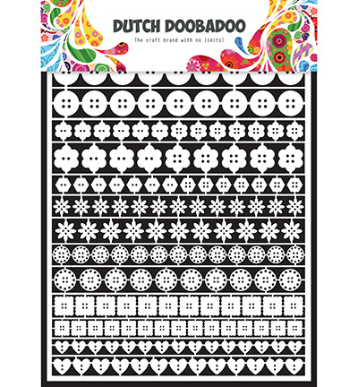 Dutch Doobadoo Paper Art 8010 Knoopjes Buttons