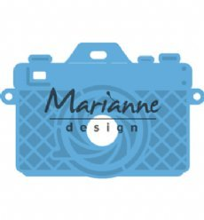 Marianne Design mallen LR0605 Photo Camera