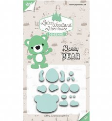 Joy!Crafts mallen 6002/3121 Berry Bear