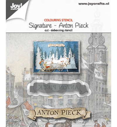 Joy!Crafts mallen 6002/1375 Anton Pieck