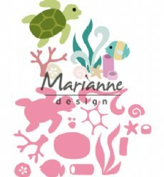 Marianne Design mallen COL1468 Sealife