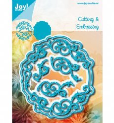 Joy!Crafts mallen 6002/1198 Cirkel Swirls