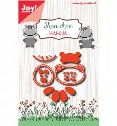 Joy!Crafts mallen 6002/1039 Hanna