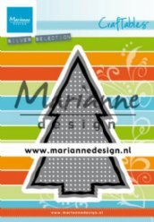 Marianne Design mallen CR1481 Cross Stitch Christm