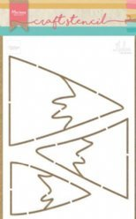 Marianne Design Stencil PS8045 Moutains